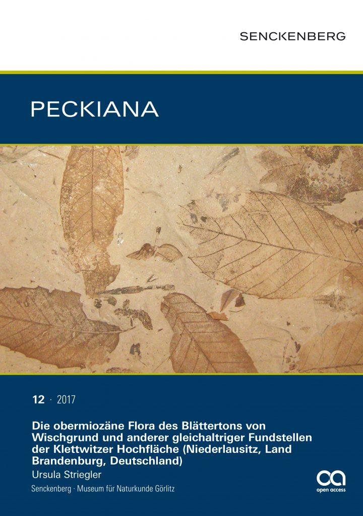 Frontcover PECKIANA 12