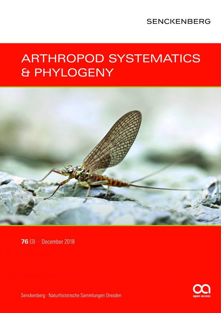 Cover wissenschaftliche Zeitschrift Senckenberg