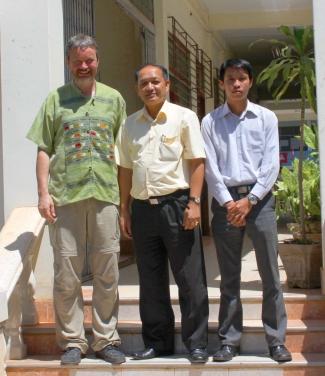 Arachnologie Laos