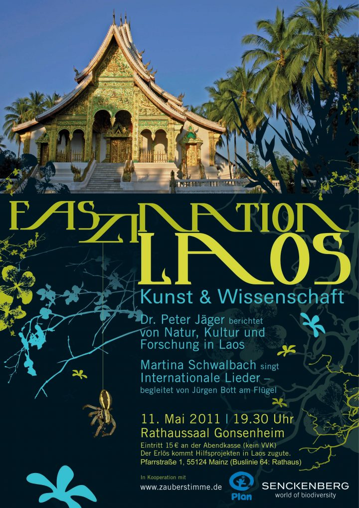 Plakat Arachnologie Laos