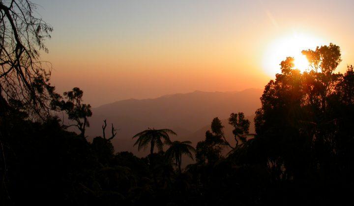 Pico Cuba am Abend