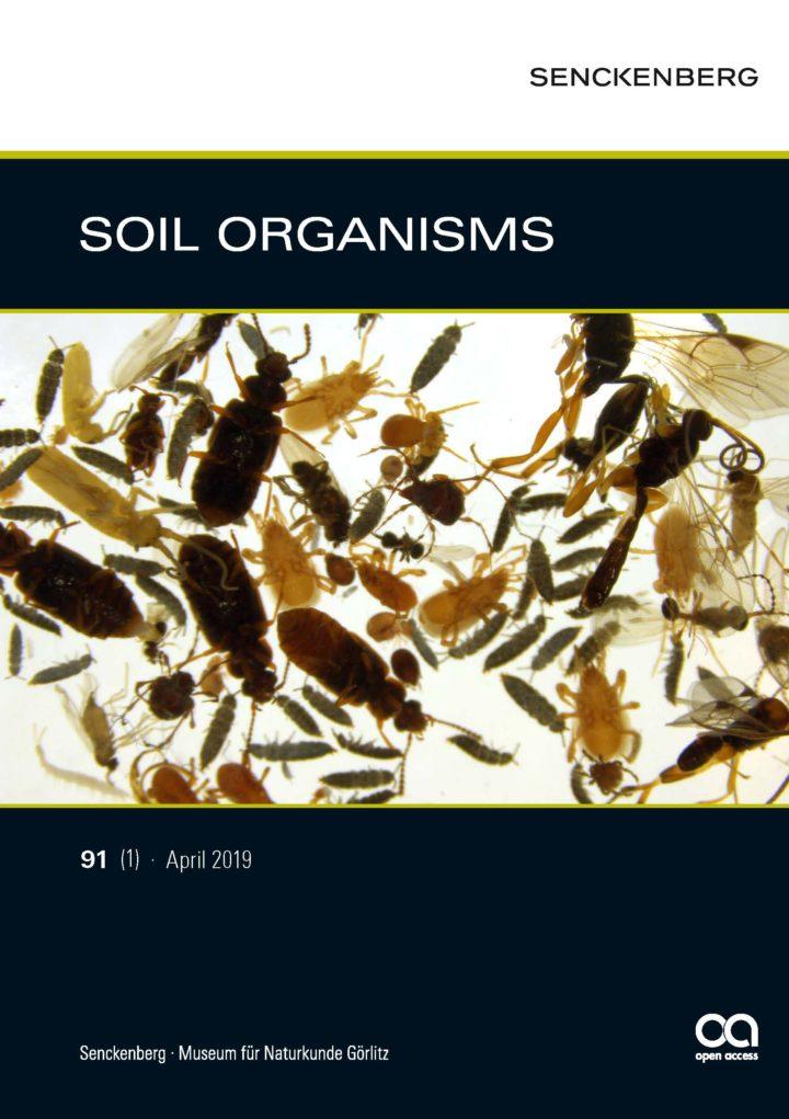 SOIL ORGANISMS 91 (1) 2019