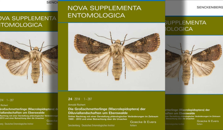 Nova Supplementa Entomologica, SDEI, Cover