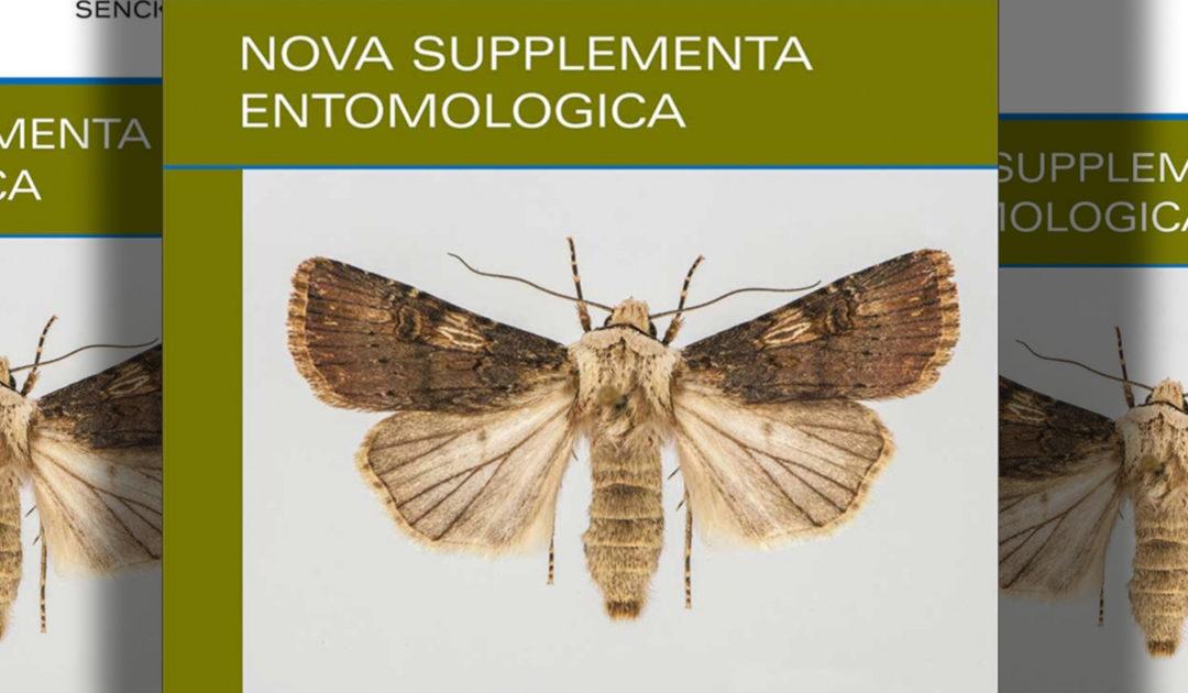 Nova Supplementa Entomologica, SDEI, Cover