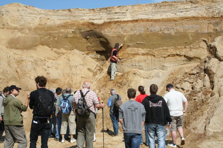 Exkursion Sandgrube Ninive