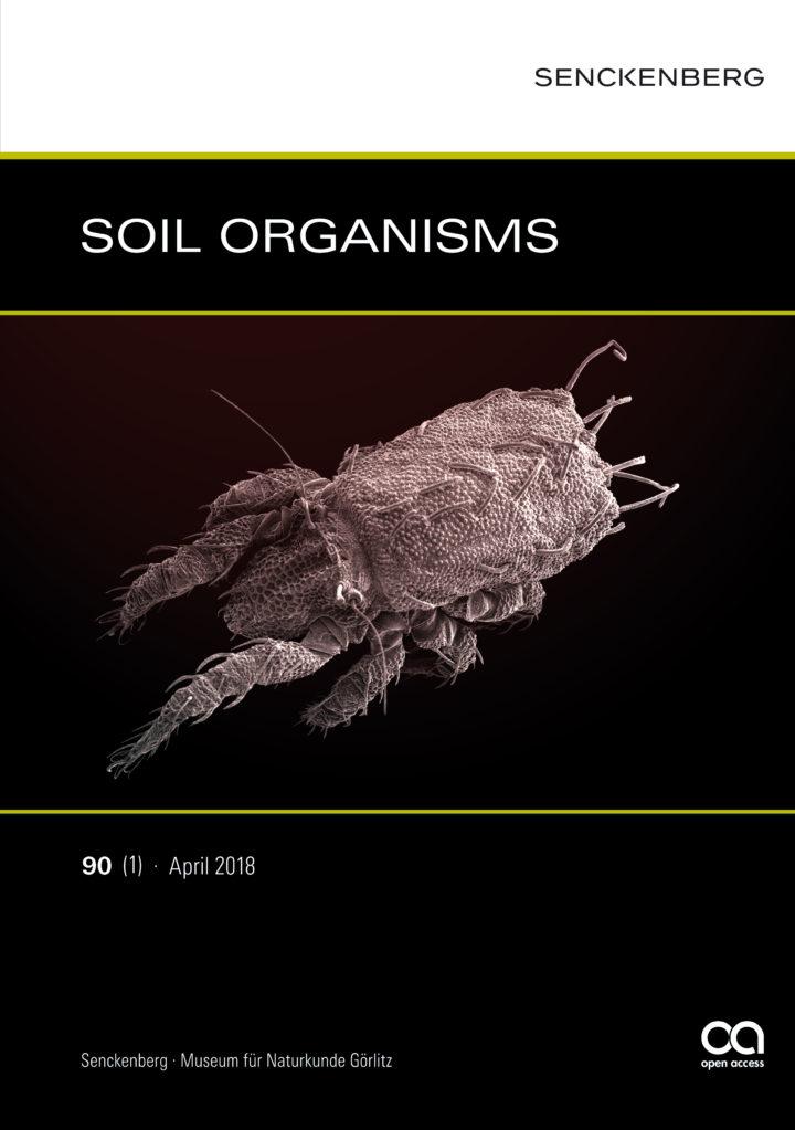 SOIL ORGANISMS 90 (1) 2018