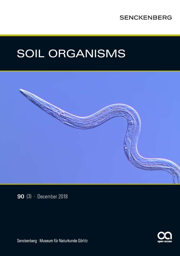 SOIL ORGANISMS 90 (3) 2018