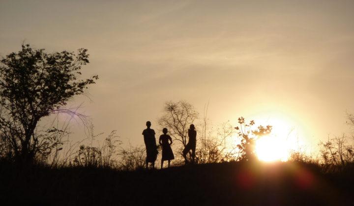 Sonnenuntergang im Karonga-Becken