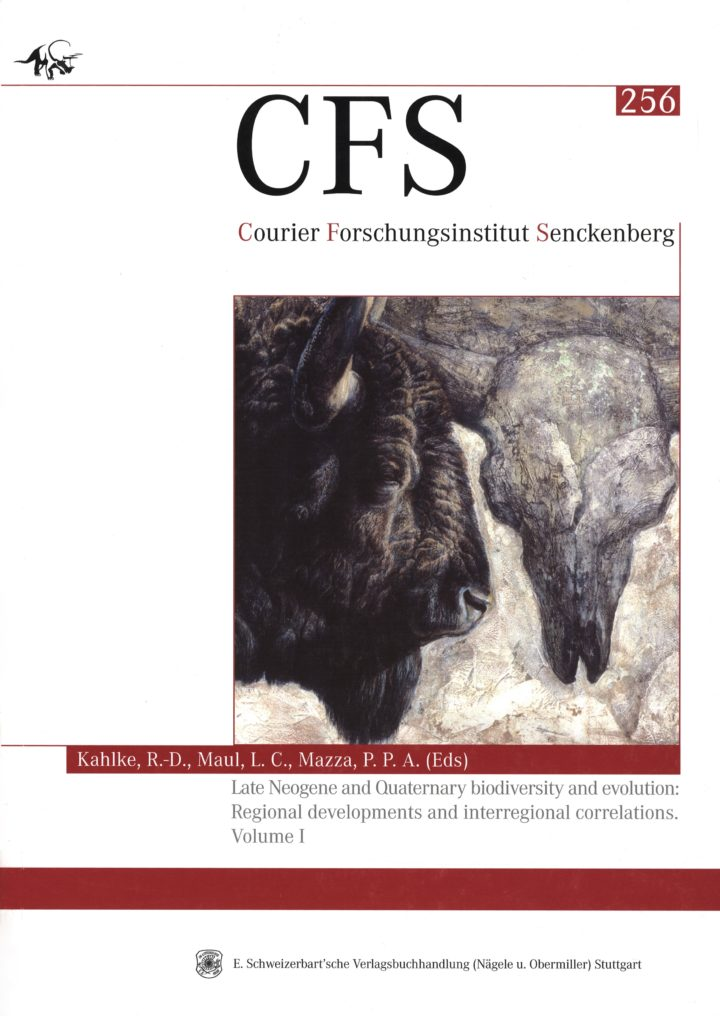 Cover Courier Forschungsinstitut Senckenberg 256