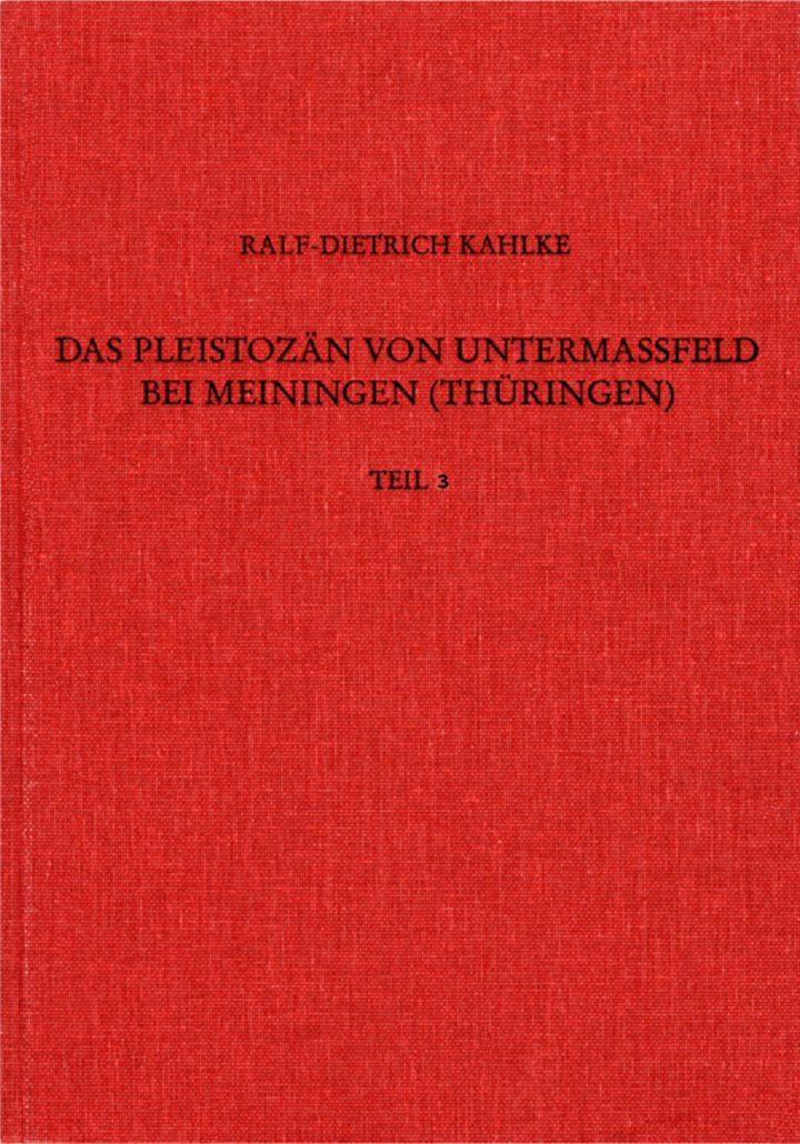 Cover Das Pleistozän von Untermaßfeld bei Meiningen Teil 3