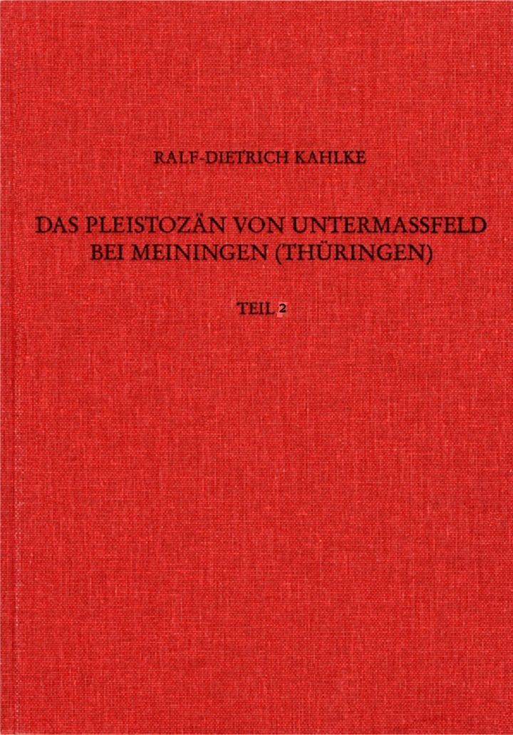 Cover Das Pleiszän von Untermaßfeld bei Meiningen Teil 2