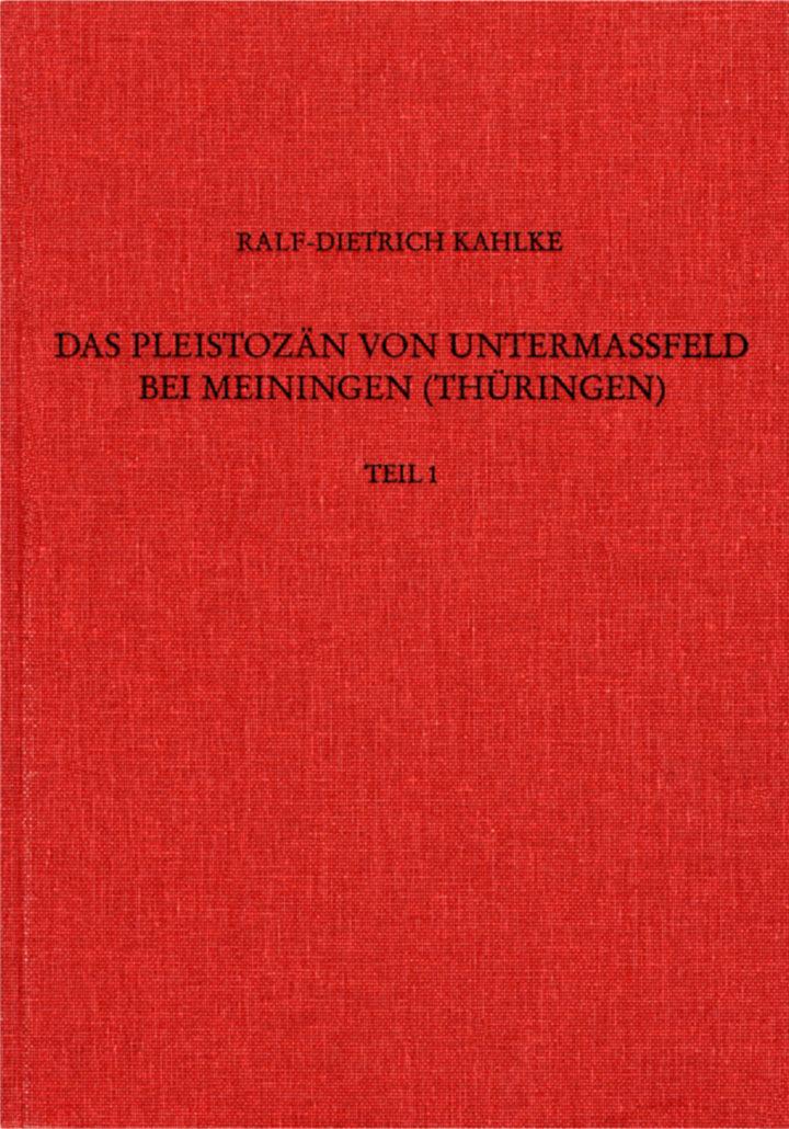 Cover Das Pleistozän von Untermaßfeld bei Meiningen Teil 1