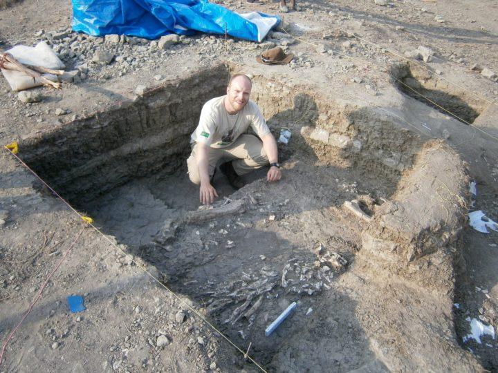 Erfolgreiche Ausgrabungen auf der Rusinga Insel (Links; 2011)