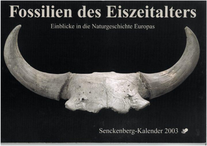 Cover Fossilien des Eiszeitalters
