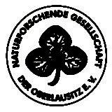 Logo Naturforschende Gesellschaft der Oberlausitz