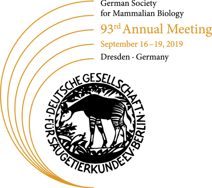 93rd Annual Meeting, German Society for Mamalian Biology, Dresden