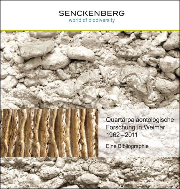 Cover Bibliographie Quartärpaläontologische Forschung in Weimar 1962-2011