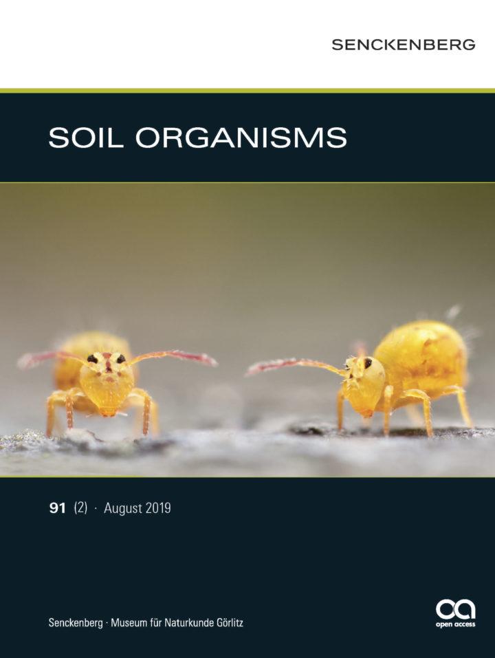 SOIL ORGANISMS 91(2) 2019