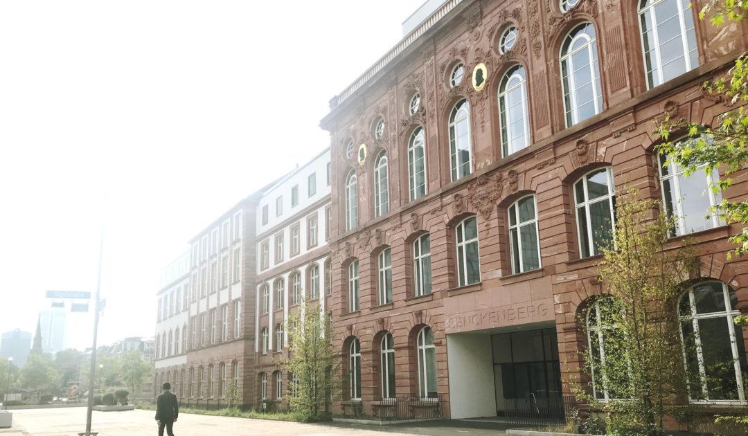 Senckenberg Forschungsinstitut Frankfurt Außenansicht
