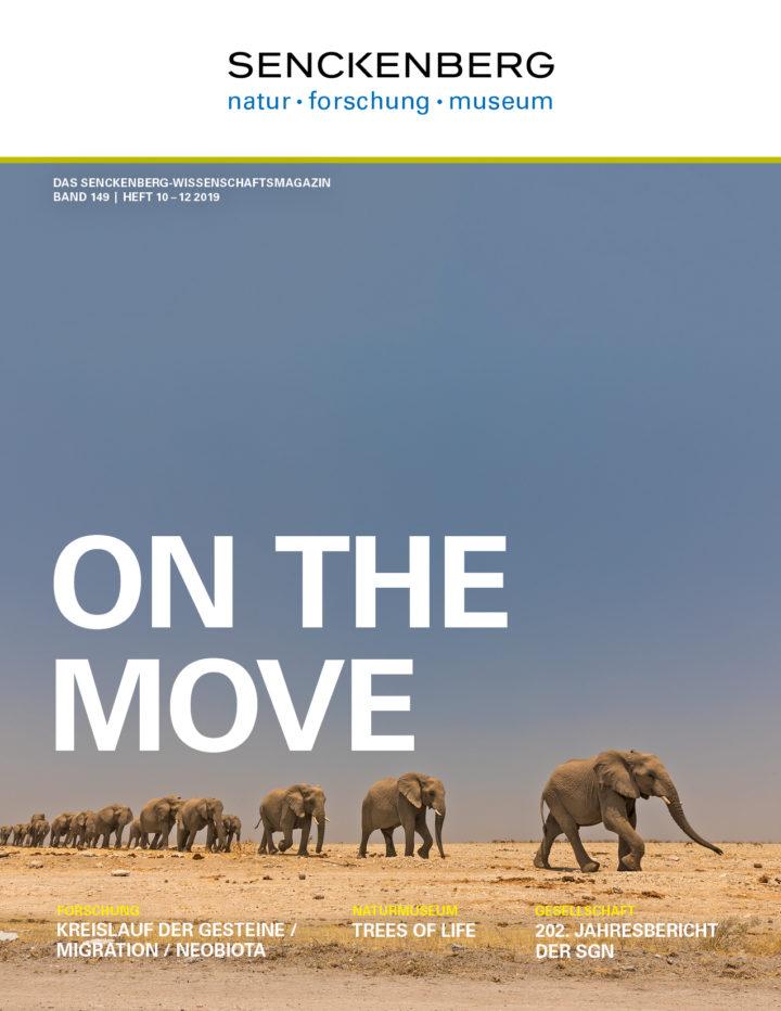 Cover Mitgliedermagazin mit Elefanten
