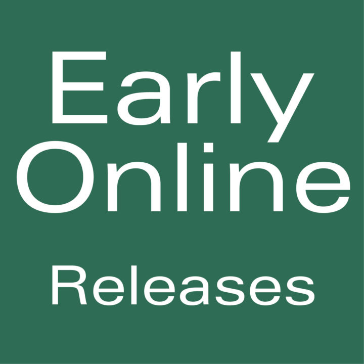 Vertebrate Zoology - Early Online Releases