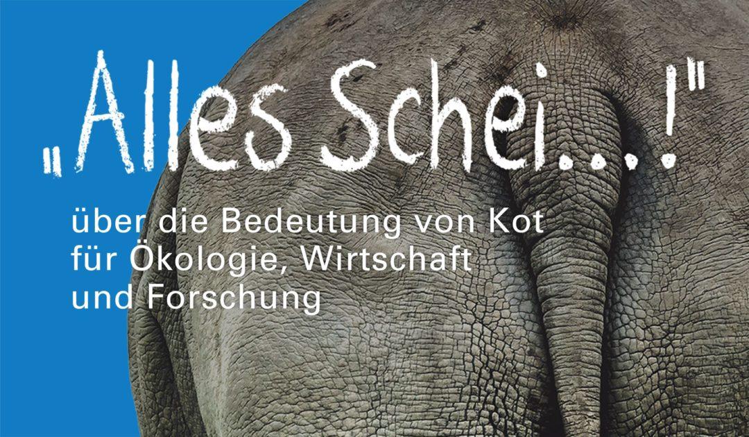 Banner Sonderausstellung Alles Scheiße Görlitz 2019 groß