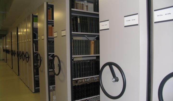 SDEI Müncheberg Bibliothek Magazin