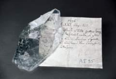Bergkristall aus der Schweiz aus dem Nachlass A. T. v. Gersdorf. (Görlitzer Sammlungen für Geschichte und Kultur, Foto: Die Partner GmbH)