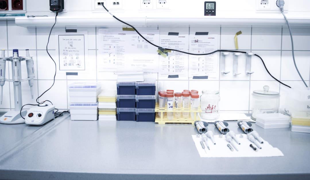 Molekularlargenetischer Arbeitsplatz