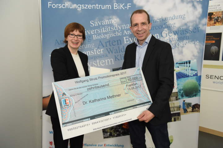 Verleihung des Wolfgang-Strutz-Promotionspreises 2016