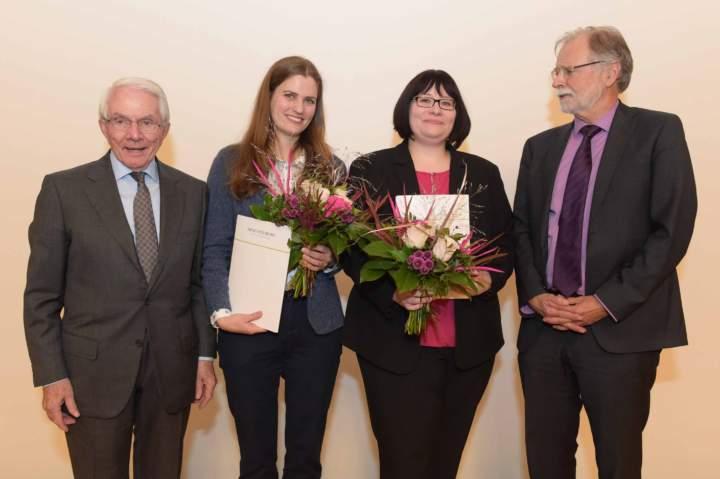 Verleihung des Wolfgang-Strutz-Promotionspreises 2018