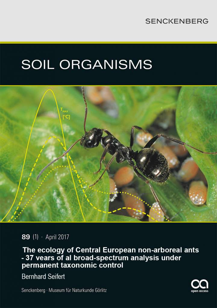 Ecology of Central European non-arboreal ants