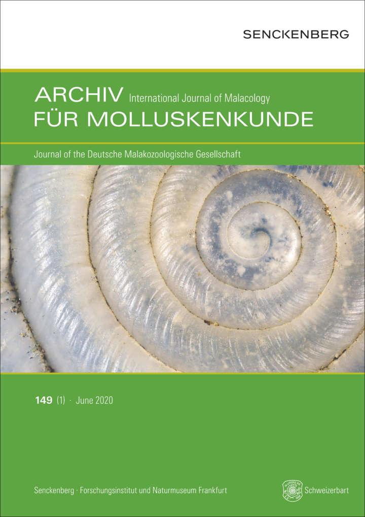 Archiv für Molluskenkunde Cover