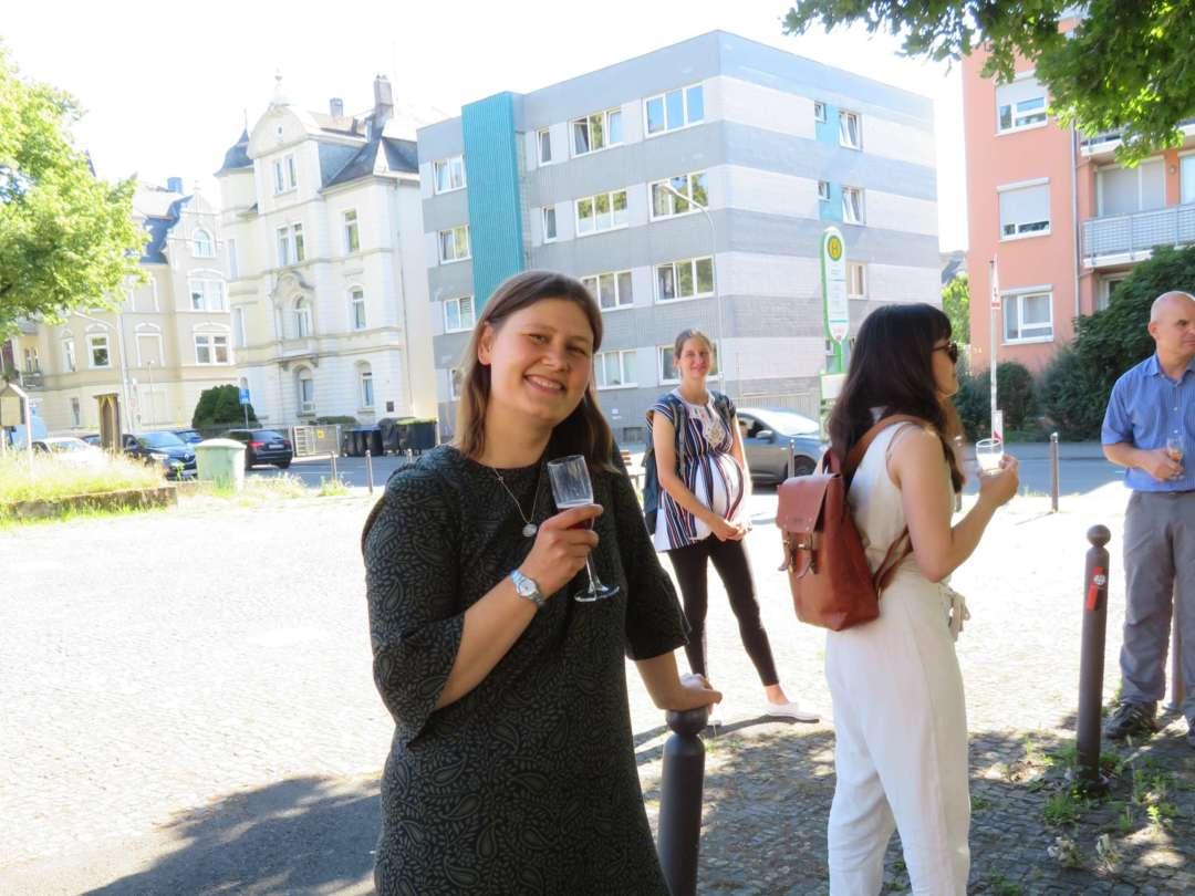 Mitarbeiterfoto Sarah Schießl-Weidenweber Habilitation