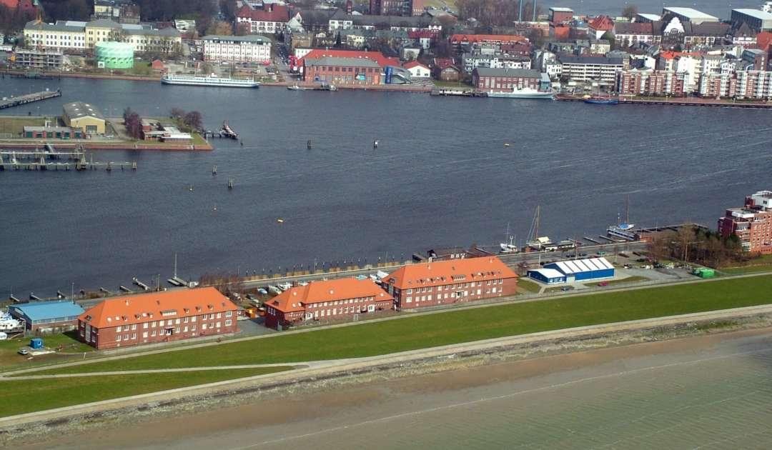 Senckenberg am Meer Luftbild