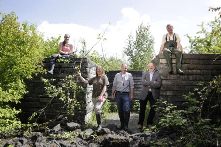 Biotopkartierung: Arbeit im Gelände (2013)