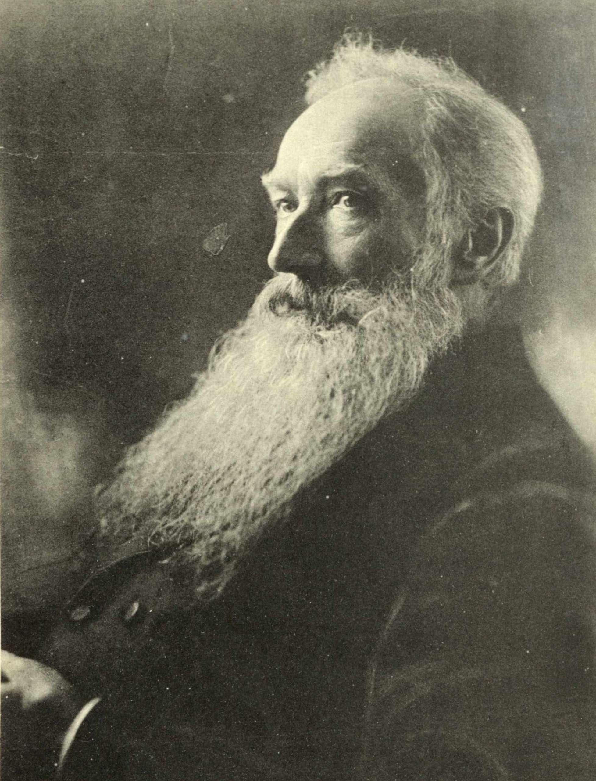 Portrait of Friedrich Borcherding
