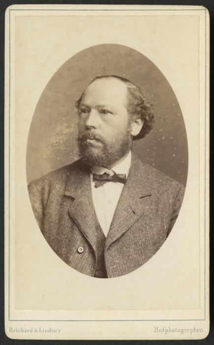 Portrait of Gustav Schneider