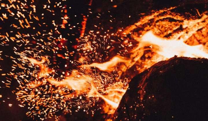 Stockfoto Feuer