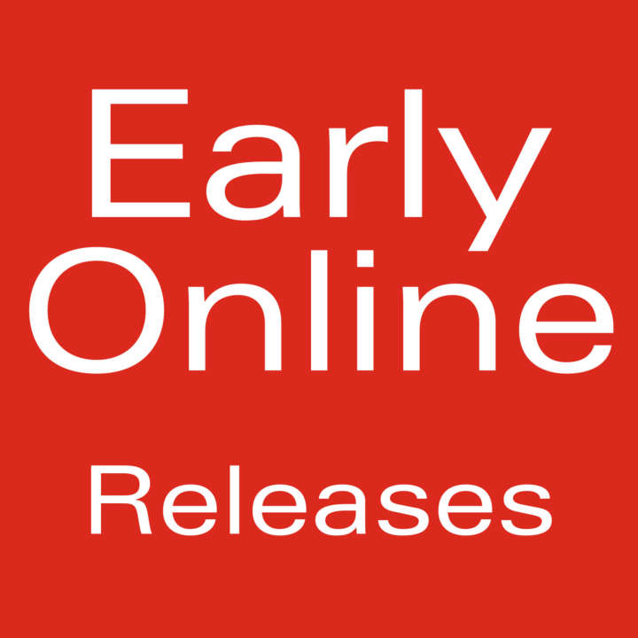 Early Online Releases - Arthropod Systematics & Phylogeny
