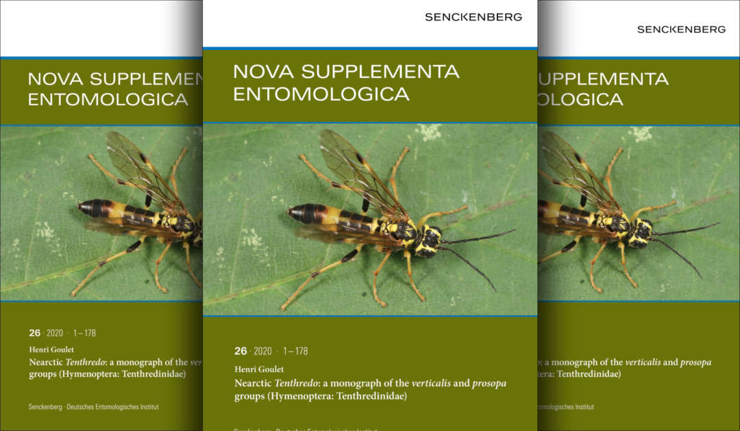 Nova Supplementa Entomologica Vol. 26.2020