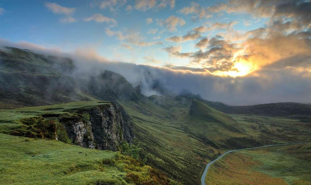 Landschaft Natur Unsplash Stockfoto