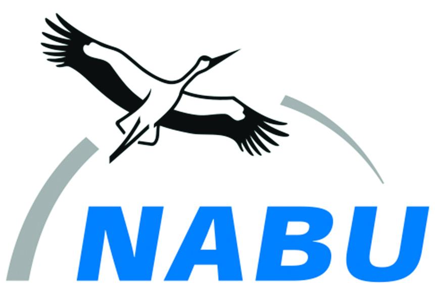 Logo des NABU - Naturschutzbund Deutschland.