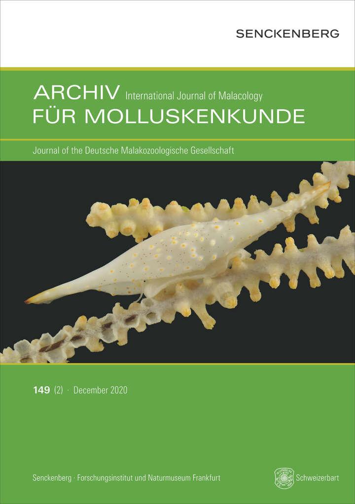 Moluskenkunde Volume 149 (2)