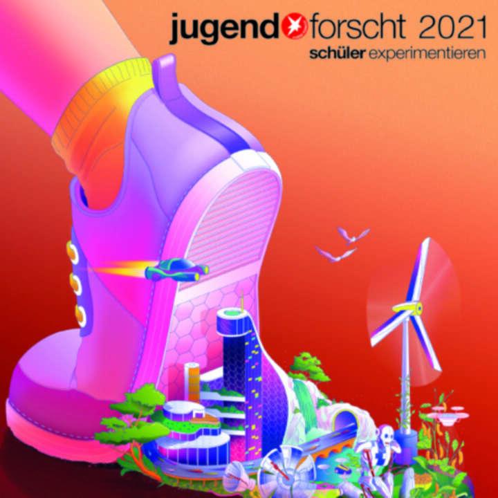 """""""Jugend forscht""""-Plakat."""