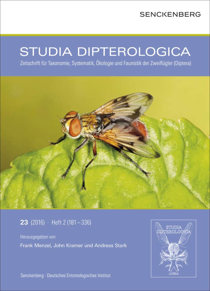studia dipterologica cover