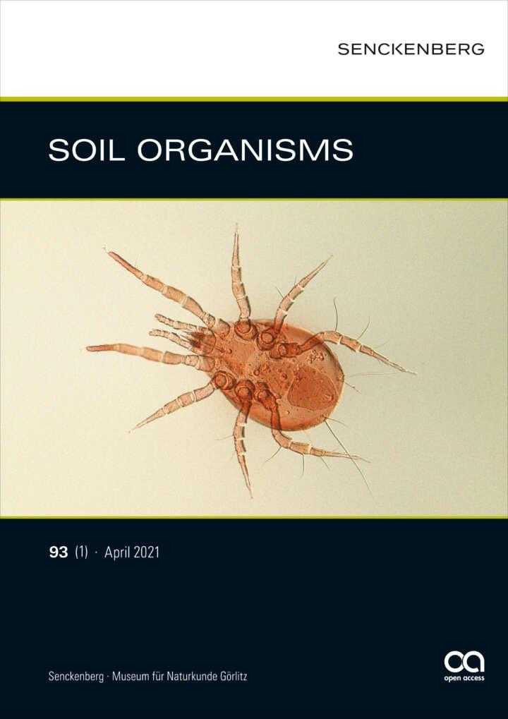 SOIL ORGANISMS 93(1)