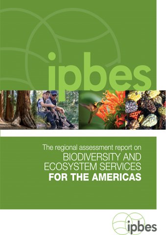 Cover IPBES Assessment Americas 2018