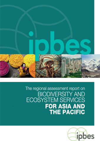 Cover IPBES Assessment Asia Pacific 2018