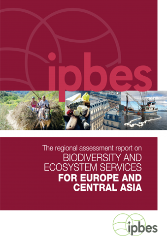 Cover IPBES Assessment Central Asia Europe 2018